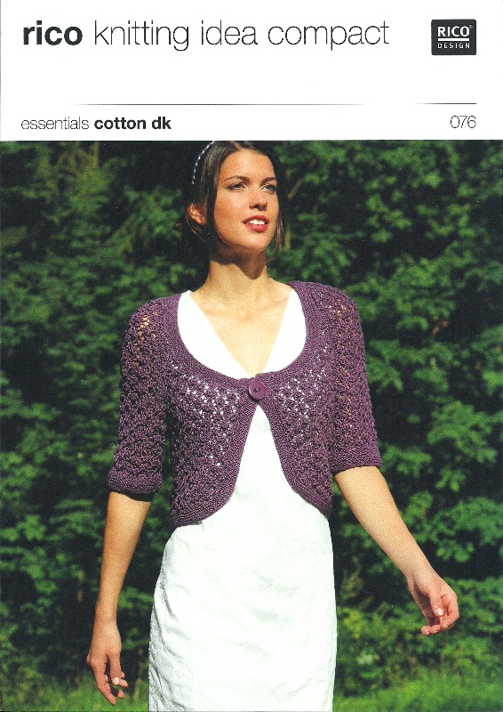 076 DK Lace Bolero