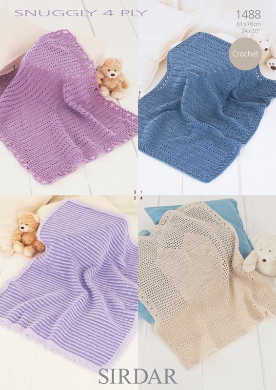 1488 4Ply Crochet Blankets