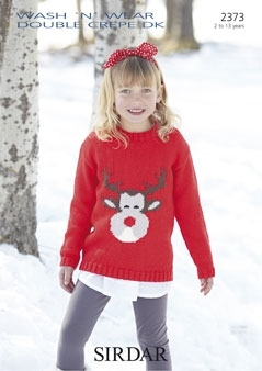 2373 DK Reindeer Sweater