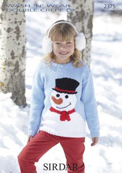 2375 DK Snowman Sweater