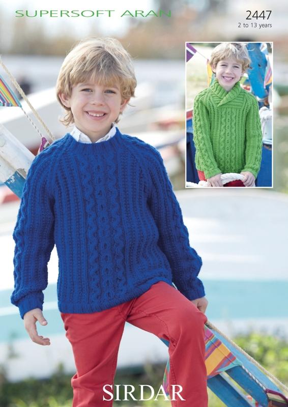 2447 Aran Sweaters