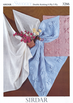 3266 DK/4Ply/Blanket/3Ply Shawl