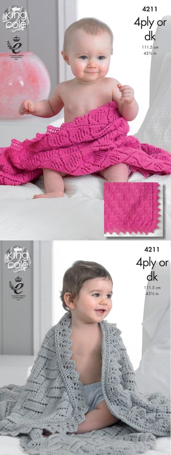 4211 4 Ply/DK Shawls