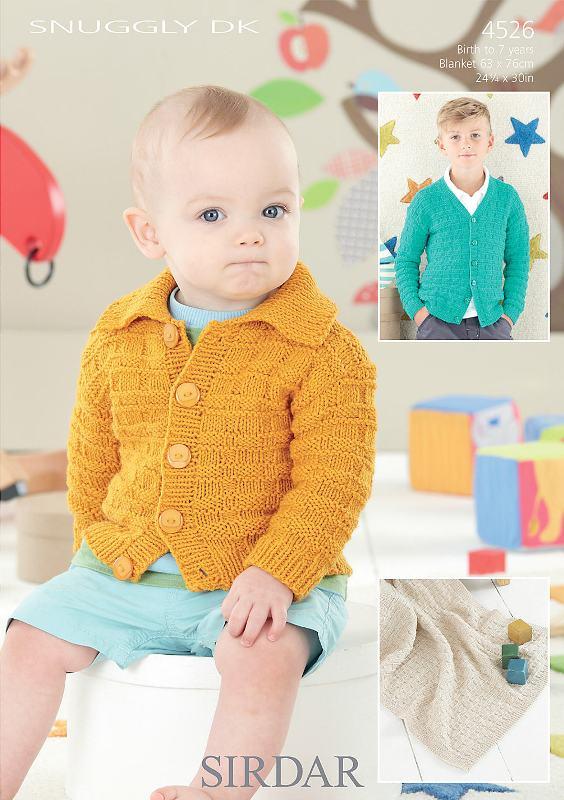4526 DK Cardigans/Blanket