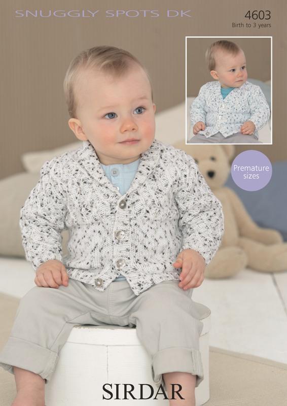4603 DK Baby Boy's Cardigans
