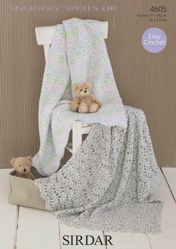 4605 DK Crochet Blankets