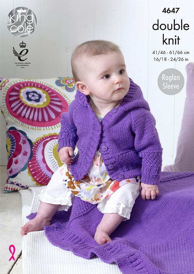 4647 DK Cardigan/Blanket