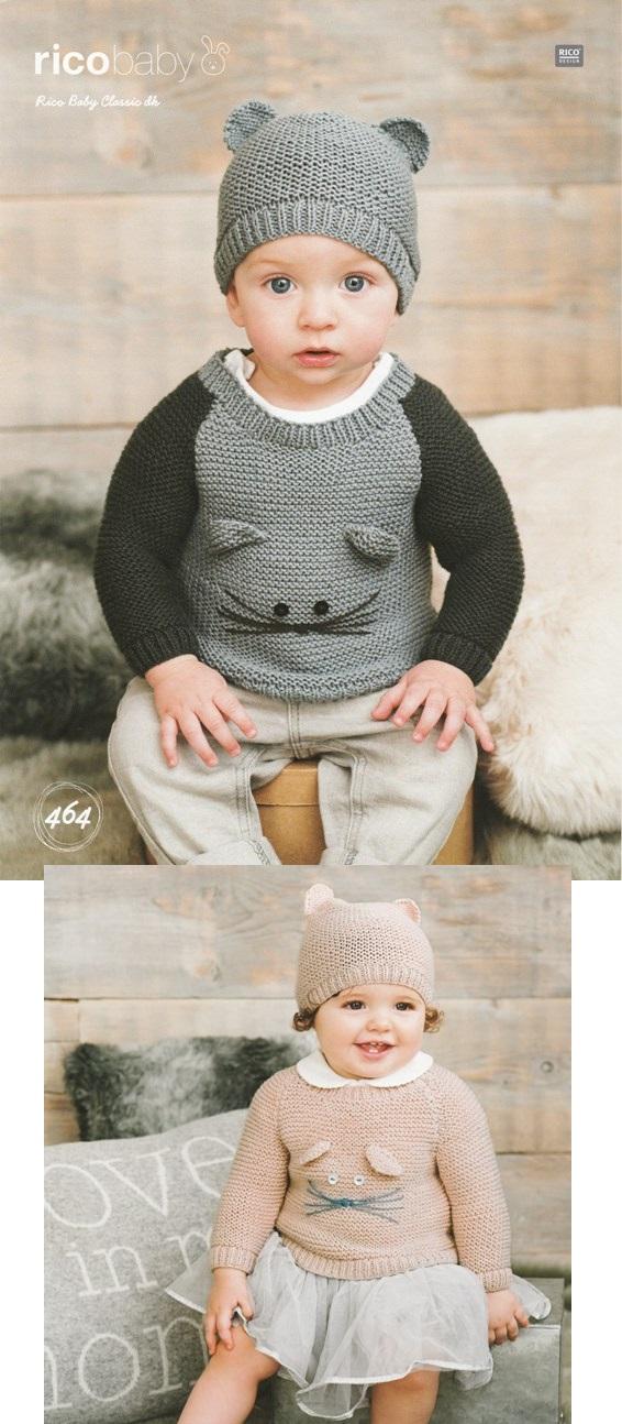 464 DK Sweater/Hat