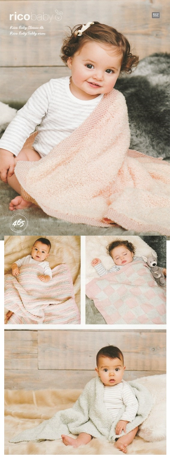 465 DK and Aran Blankets