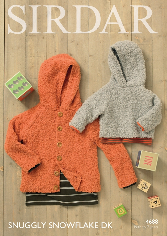 4688 DK Hooded Sweater/Cardigan