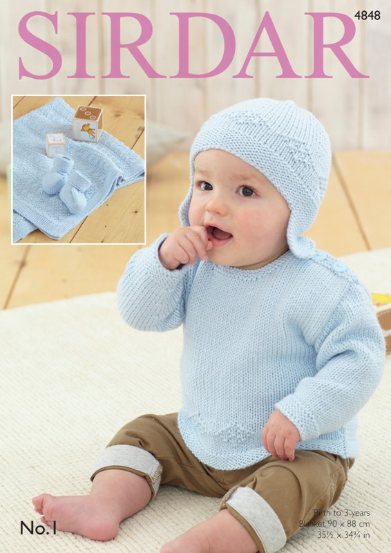 4848 DK Sweater/Helmet Set