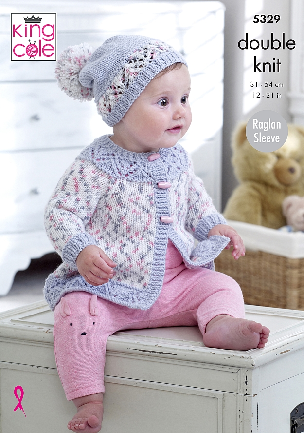 5329 King Cole DK Baby Set
