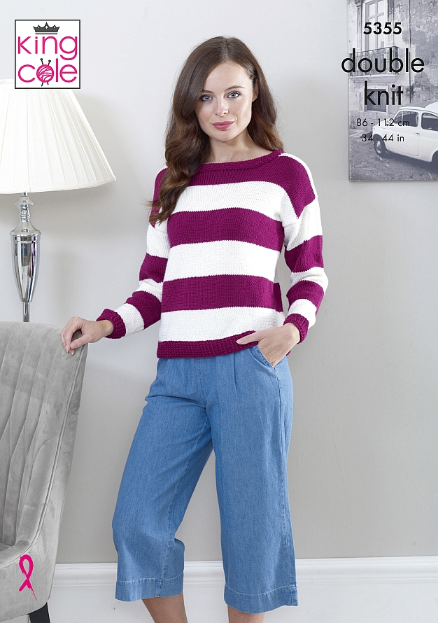 5355 King Cole DK Sweater/Top