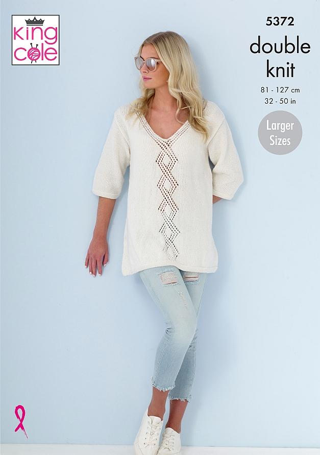 5372 King Cole DK Sweaters