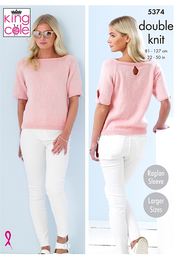 5374 King Cole DK Sweaters