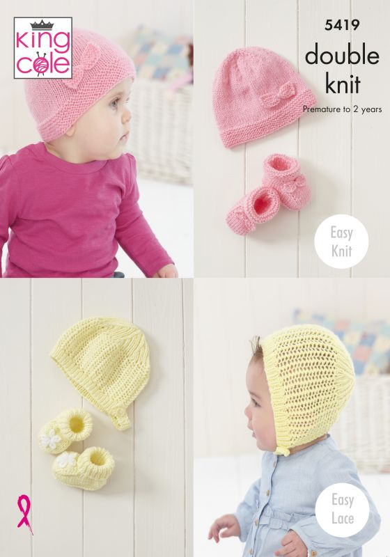 5419 King Cole DK Baby Sets