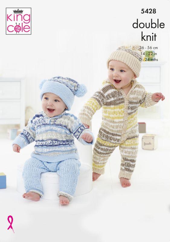 5428 King Cole DK Baby Set