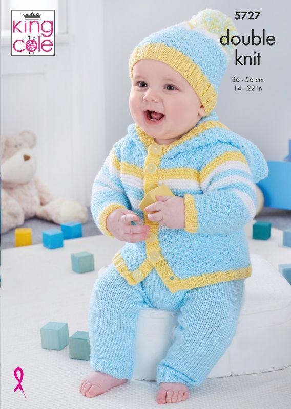 5727 King Cole DK Baby Set