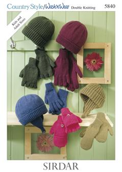 5840 DK Hats / Gloves