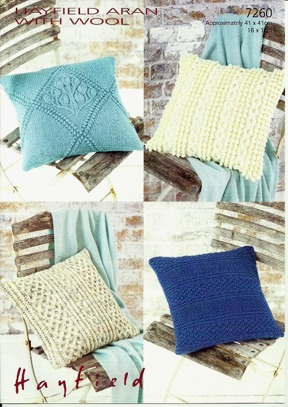 7260 Aran Cushion Covers