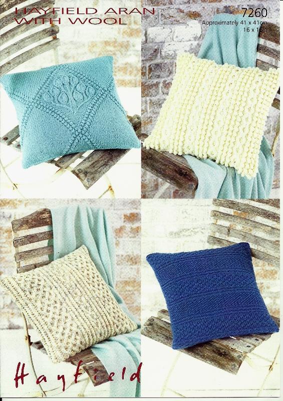 7260 Aran Cushion Covers