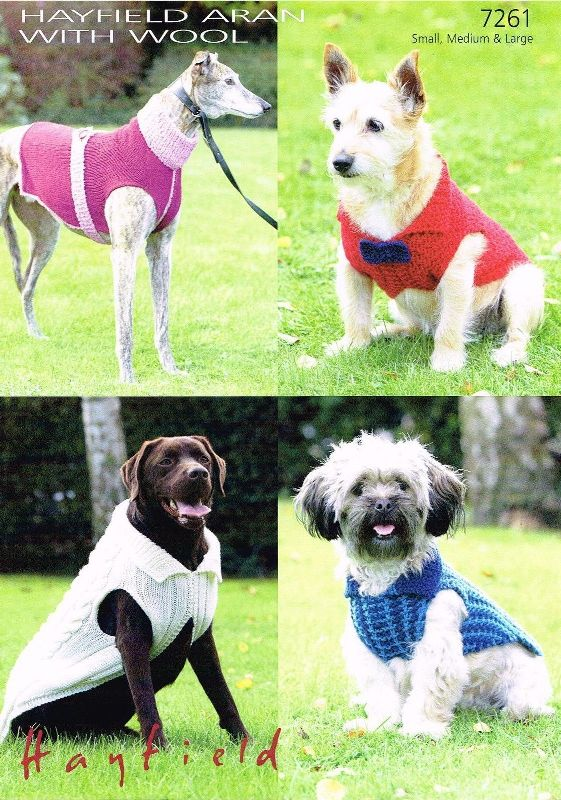 7261 Aran-CH Dog Coats