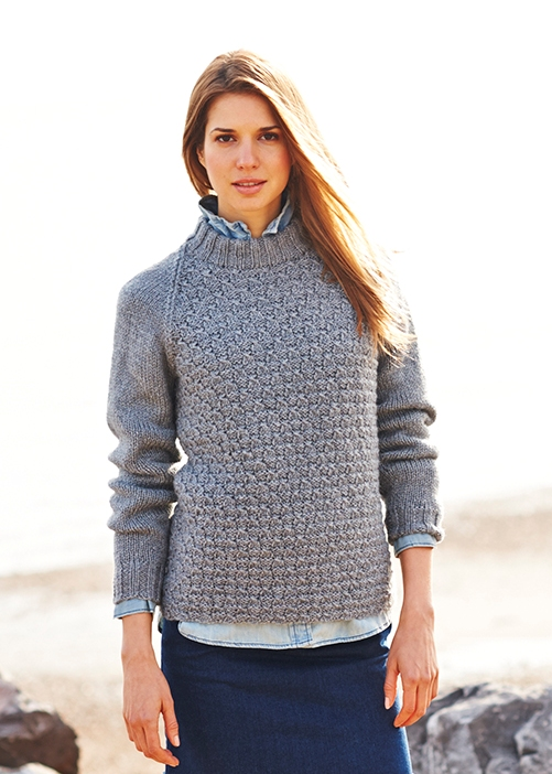 9019 Stylecraft Aran Sweater