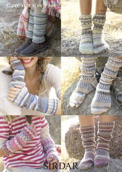 9135 DK Socks / Warmers