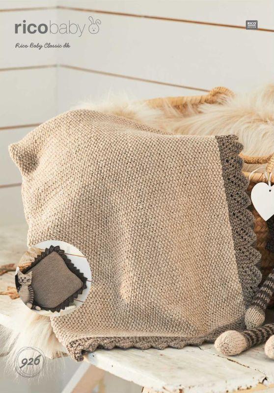 Rico 926 DK Blanket/Pillow