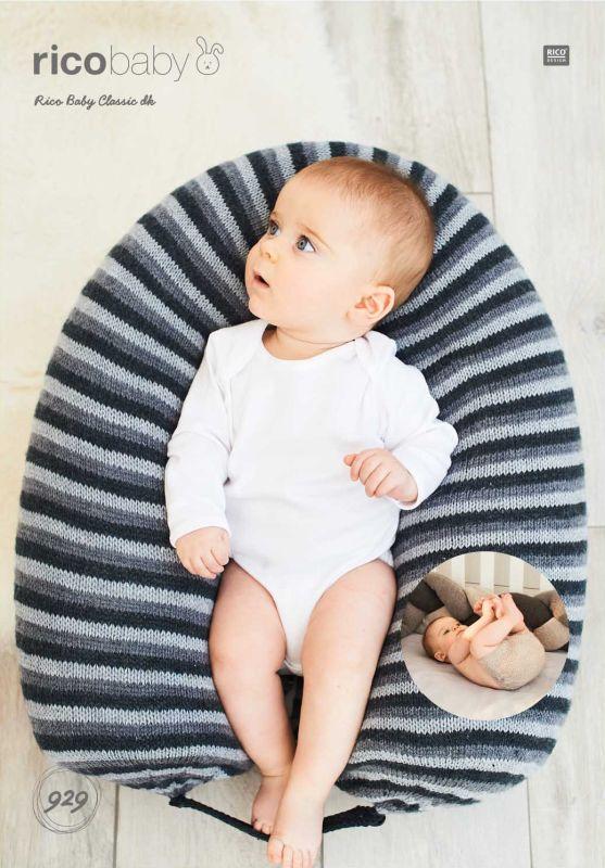 Rico 929 DK Mum-Baby Pillow/Cot Bumper