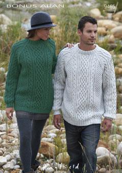9465 Aran Sweater