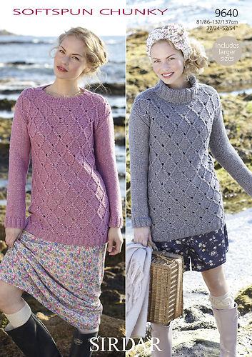 9640 Chunky Sweaters