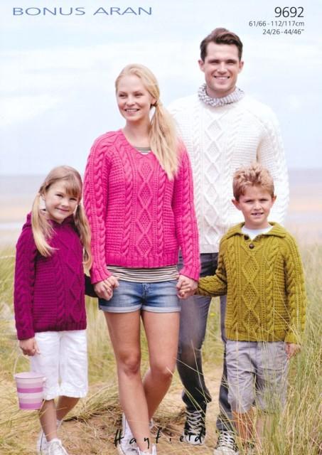 9692 Aran Sweaters