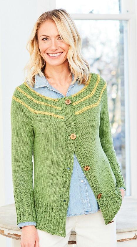 9755 Stylecraft DK Cardigan/Sweater