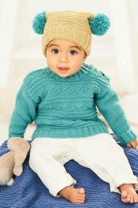 9761 Stylecraft DK Sweater/Hat