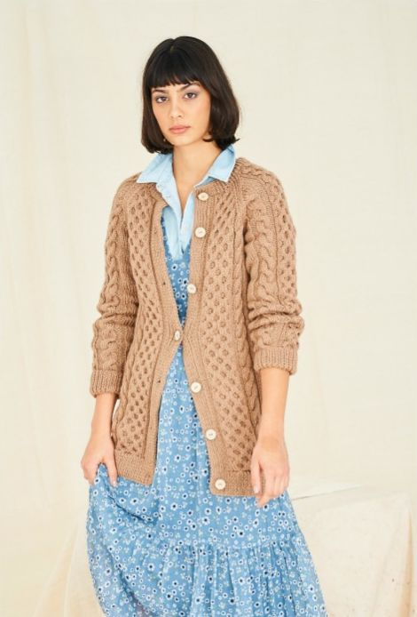 9769 Stylecraft Aran Cardigans