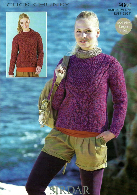 9860 CH Polo Neck Sweater