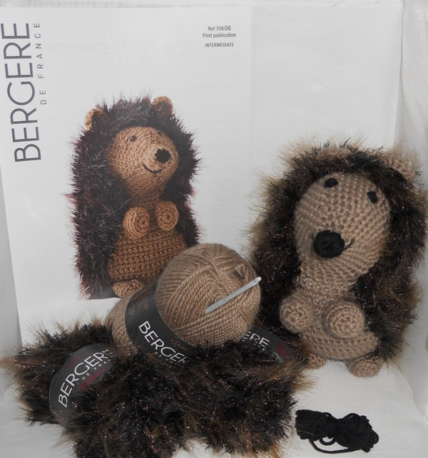 Hedgehog Crochet Kit