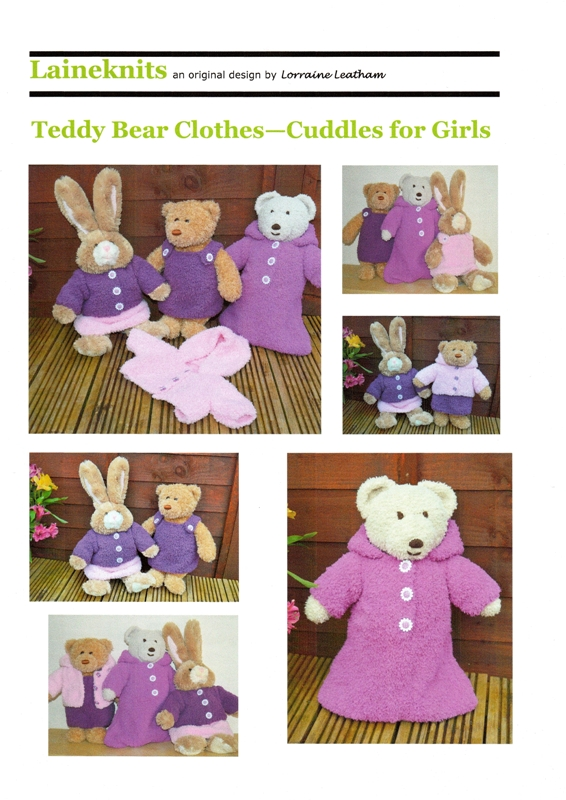Teddy Bear Clothes-Cuddles for Girls