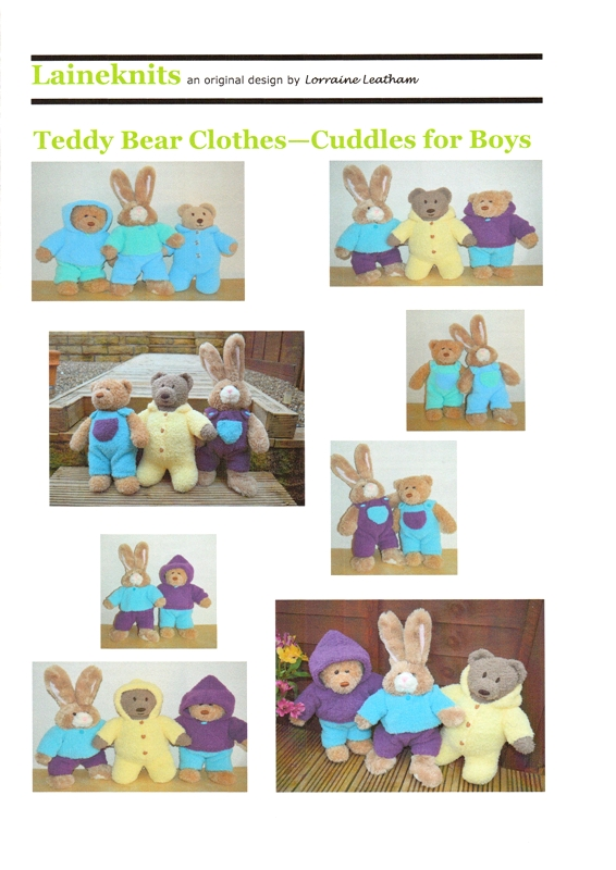 Teddy Bear Clothes-Cuddles for Boys
