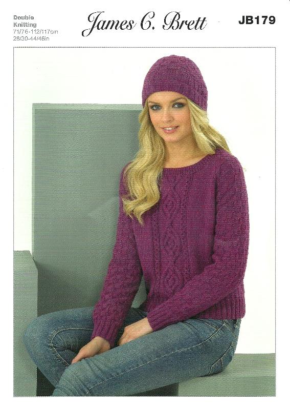 JB179 DK Sweater/Hat