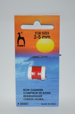 PONY ROW COUNTER 2 - 5mm