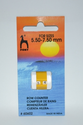 PONY ROW COUNTER 5.5 - 7.5mm