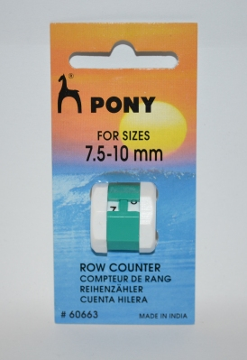 PONY ROW COUNTER 7.5 - 10mm