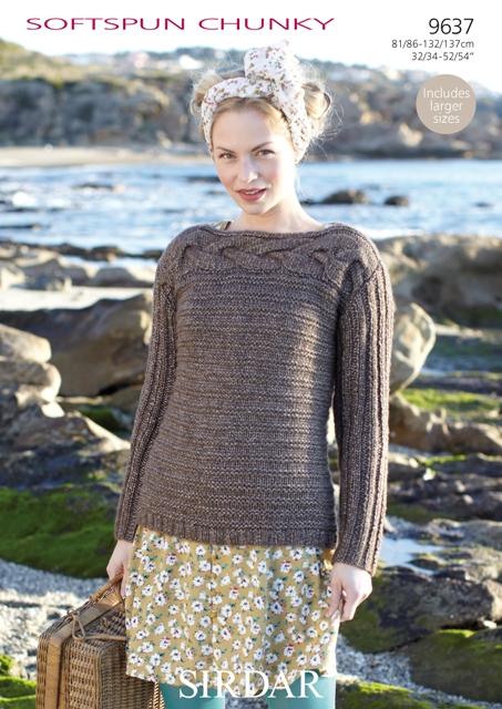 9637 Chunky Sweater